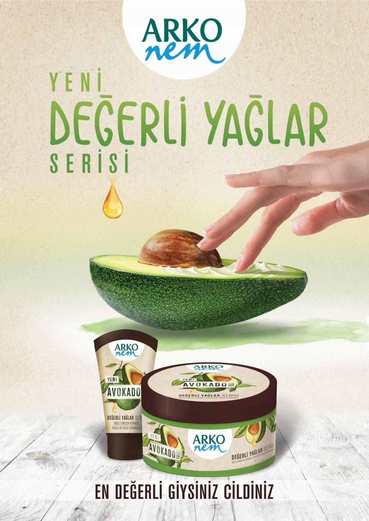 ARKO Avocado Hand en body creme 60ml