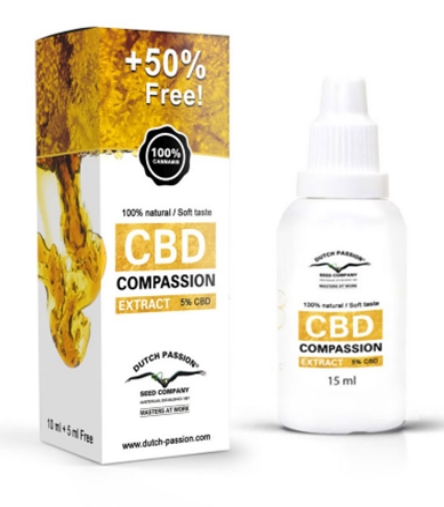 Dutch Passion CBD olie 5ml GRATIS