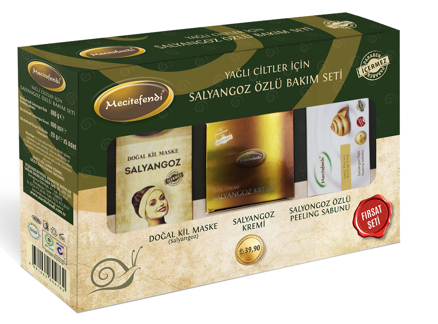Mecitefendi Nails Beauty Care Set