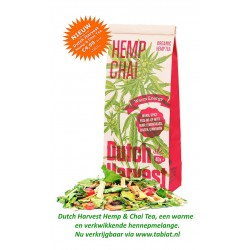 Dutch Harvest Hemp & Chai Tea Warm Energy, 50gr. Nu voor €4,99