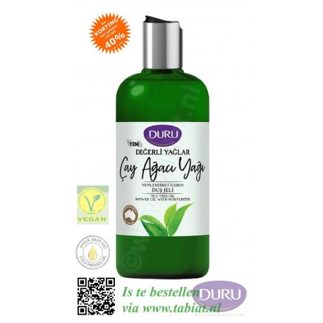 Duru Tea Tree Oil Shower Gel with Moisturizer, 500ml